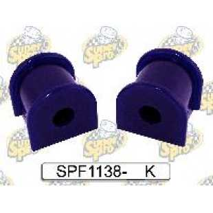 Kit silentblock barra estabilizadora trasera a eje 21mm diametro