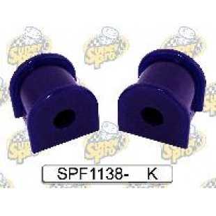 Kit silentblock barra estabilizadora trasera a eje 22mm diametro